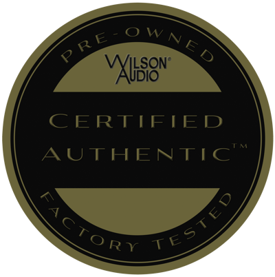 Wilson certified authentic